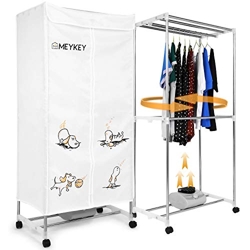 MeyKey Portable Clothes Dryer Heater 1000W Electric Drying R