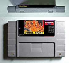 Game for SNES - Game card - Final Fight Games Final Fight 1 - Action Game Card US Version English Language - Game Cartridge 16 Bit SNES , cartridge snes