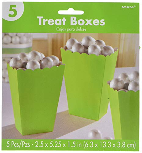 Popcorn Boxes, Small   Kiwi   Party Accessory