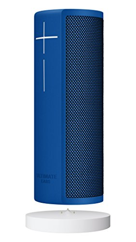 Ultimate Ears BLAST Portable Waterproof Wi-Fi and Bluetooth Speaker + Power Up Charging Dock with Hands-Free Amazon Alexa Voice Control  - Blue Steel