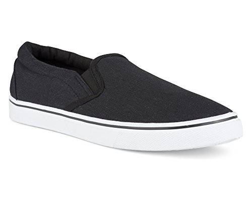 Influence Men's Gore Slip-On Casual Sneaker, Black, Size ()