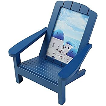 Amazoncom Aike Adirondack Chair Wooden Picture Photo Frame Beach