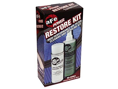 aFe Power MagnumFLOW 90-50001M Air Filter Restore Kit (Case Pack, Blue)
