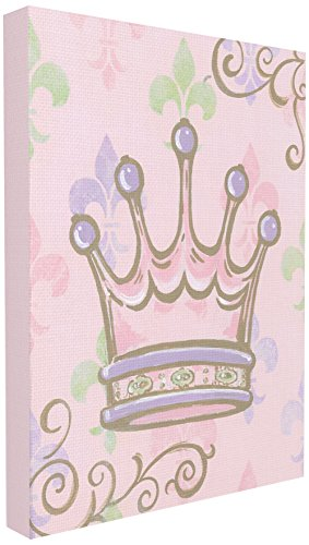 The Kids Room by Stupell Castle with Fleur De Lis Wall Plaque, 16 x 20 ()