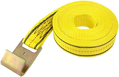 PROGRIP 320881 Heavy Duty Ratchet Tie Down Replacement Strap with Webbing 25 x 4 J-Hook