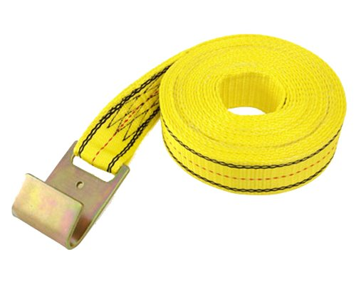 PROGRIP 05344 Heavy Duty Ratchet Tie Down Replacement Strap with Webbing: Flat Hook,  30' x 2""