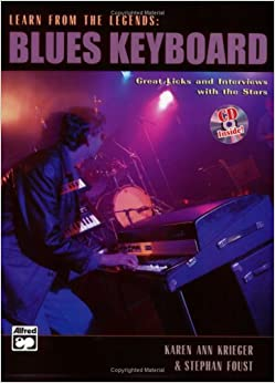 Learn from the Legends: Blues Keyboard, Book & CD