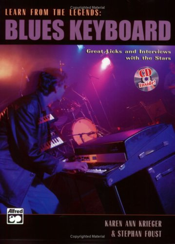 Learn from the Legends: Blues Keyboard, Book & CD ()