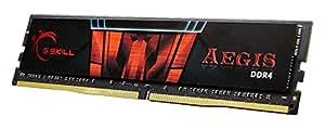G.Skill 8GB DDR4-2133 8GB DDR4 2133MHz módulo de - Memoria (DDR4, PC/server, 288-pin DIMM, 1 x 8 GB, Solo, Negro, Rojo)