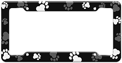 Amazon.com: Graphics and More Blank Paw Print Dog Cat Pattern ...