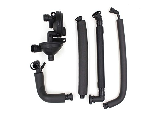 - GooDeal Crankcase Vent Valve PCV Breather Hose Kit for BMW (11617533398)
