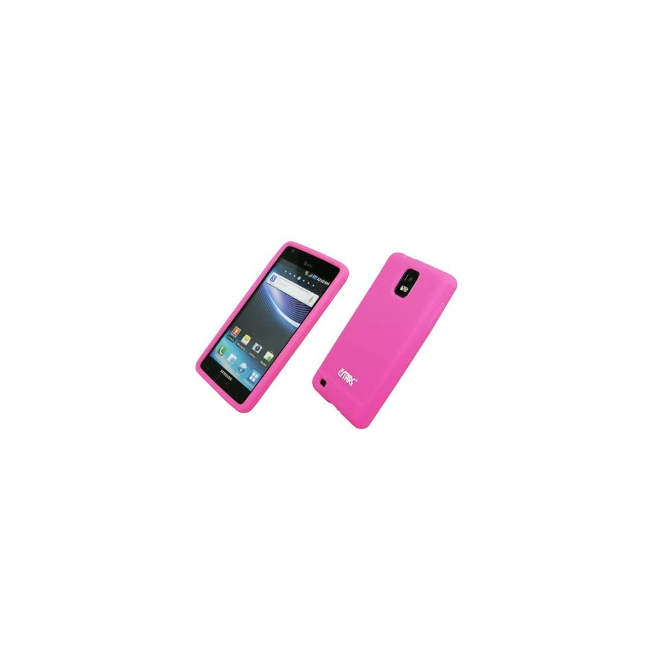 EMPIRE Pink Silicone Skin Case Cover for AT&T Samsung