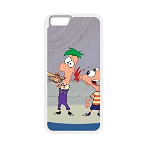 Phineas & Ferb Across the 2nd Dimension iPhone 6 4.7 Inch Cell Phone Case White NZX