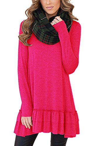 Pink Ruffled Dress - 4