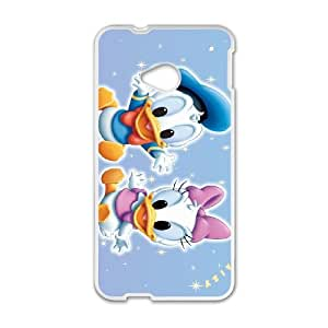 Donald Duck HTC One M7 Cell Phone Case White SH6073202