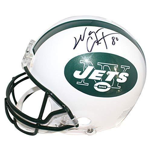 Wayne Chrebet New York Jets Signed Authentic Full Size VSR4 Helmet - Steiner Sports Certified - Autographed NFL Helmets