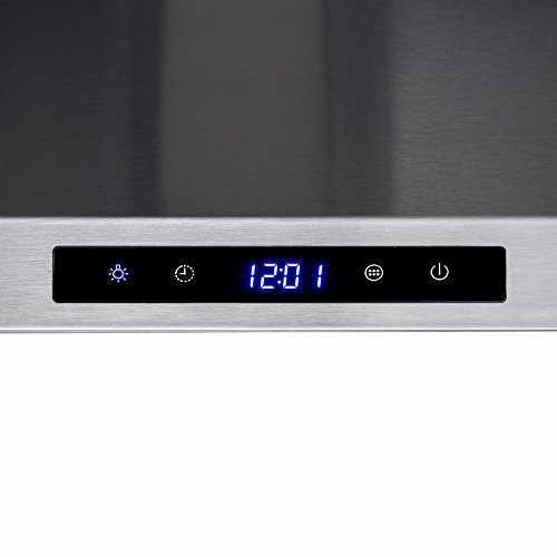 AKDY 30'' Wall Mount Stainless Steel Touch Control Kitchen Range Hood Cooking Fan by AKDY (Image #4)