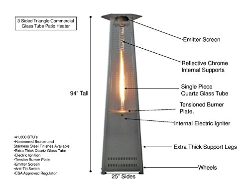 AZ-Patio-Heaters-HLDS01-CGTSS-Commercial-Stainless-Steel