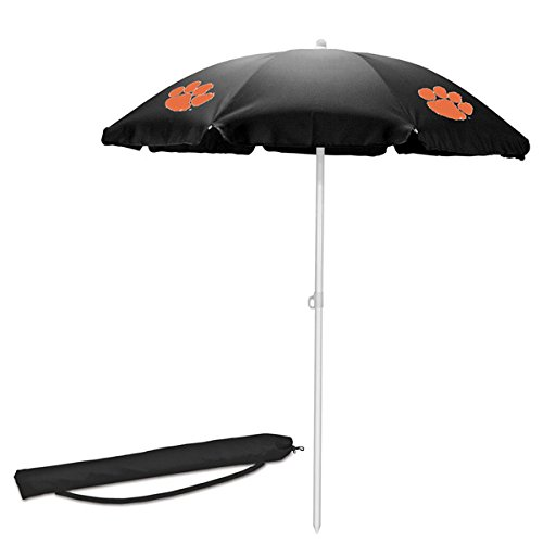 PICNIC TIME NCAA Clemson Tigers Portable Sunshade Umbrella For Sale