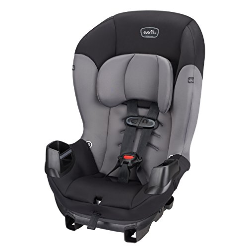 Evenflo Sonus Convertible Car Seat, Charcoal ()