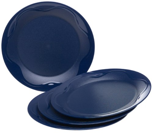 Tupperware Open House Dinner Plates, Sapphire