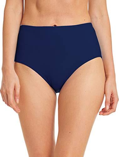 Micosuza Women's Swim Bottom High Waist Retro Basic Full Coverage Bikini Tankini Swimsuit Briefs ()