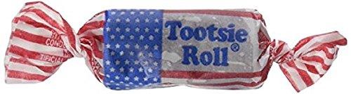 Rolls Flag Tootsie (USA Tootsie Rolls 1lb)