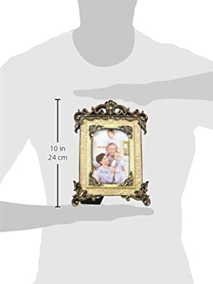 Giftgarden Friends Gifts 4x6 Oval Picture Frame Classic Silver Photo Frames 4 by 6 inch