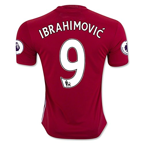 ibrahimovic-9-manchester-united-16-17-soccer-jersey-mens-home-color-red-size-l