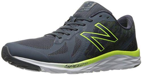 New Balance Men's M790V6 Running Shoe, Thunder/Hi Lite, 9...