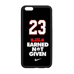 Fashion Nike Cavaliers Cleveland LeBron James #23 Case Cover for iPhone6 Plus 5.5 Laser Technology