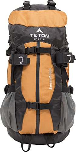 Teton Sports Summit 1500 Ultralight Backpack; Lightweight Daypack; Durable Hiking Backpack for Camping, Hunting, and Travel; Just the Right Size for a Quick Getaway; Don't Settle for the Basics by Teton Sports