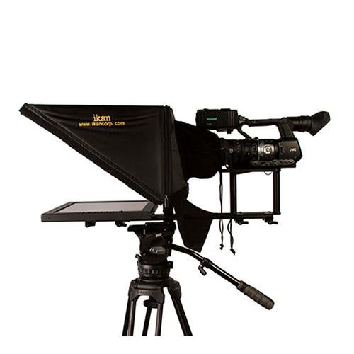 Studio Teleprompter (Ikan PT3700 17-Inch Rod Based Location/Studio Teleprompter (Black))