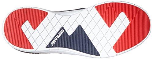 Shoe Method Skate White Navy Supra vBHxqz