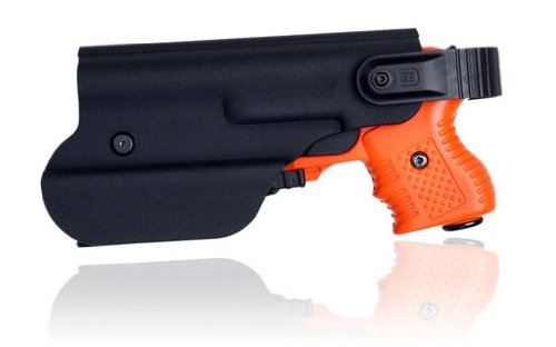 Piexon AG 4 Shot LED Laser Pepper Spray Gun Orange Bundle with Level 2 Holster by Piexon AG (Image #4)