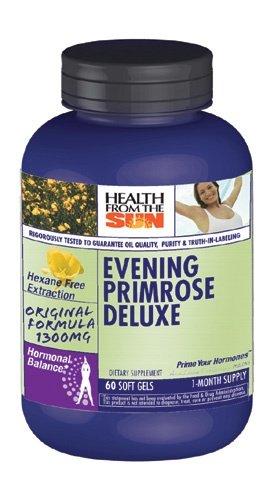 Dlx Oil - Health From The Sun Evening Primrose Oil Dlx 60 Cap