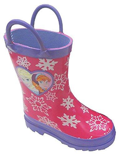 Disney's Frozen Elsa & Anna Snowflake Rain Boots - Girls