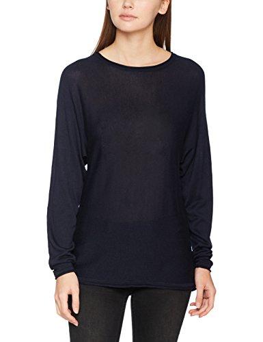 Vmgrass Vmgrass Blazer Moda Blazer LS Vero Navy Navy Blouse Blu Felpa Donna Meghan Boatneck Navy USwC7xq