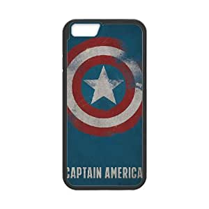 Captain Americ iPhone 6 4.7 Inch Cell Phone Case Black PQN6053055339131