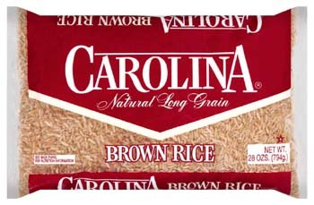 Carolina Natural Long Grain Brown Rice 2 lbs by Carolina