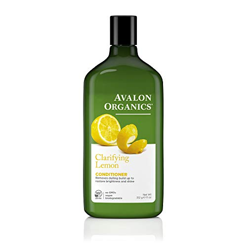 Olive Lemon Organic Oil - Avalon Organics Lemon Clarifying Conditioner, 11 -Ounce Bottle (Pack of 2)