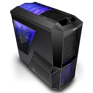 Zalman Z11PLUS - Caja semitorre, color negro