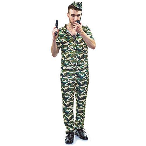 Veroman Men's Halloween Costume (Army)