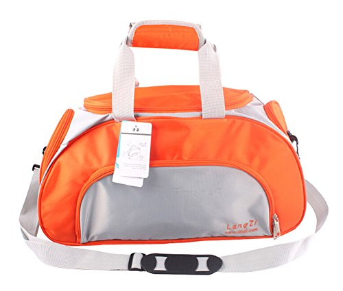 Panda Superstore Portable Practical Wet/Dry Separation Bag Swimming Equipment Bags ORANGE by Panda Superstore