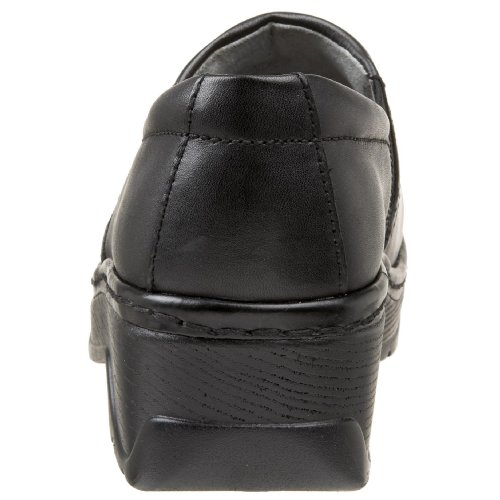 Black Leather Klogs Klogs Black w6Bq17pnE