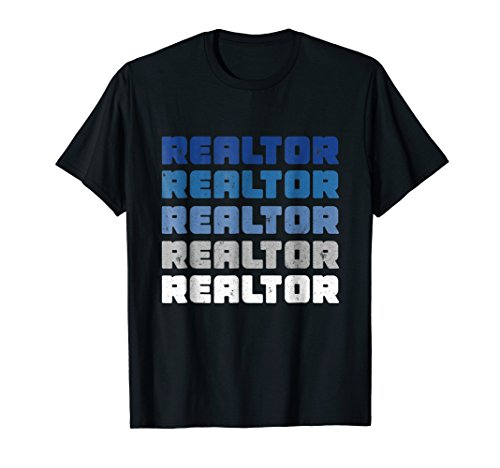 Vintage Realtor Real Estate Agent Shirt (Be A Real Estate Agent Part Time)