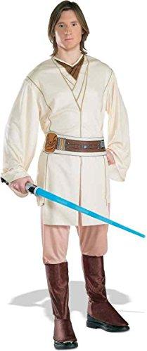 UHC Men's Star Wars Obi-Wan Kenobi Theme Party Fancy Dress Costume, Standard (up to 44)