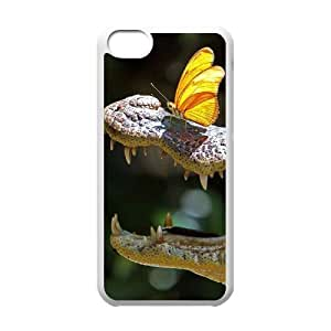 Crocodile Eye Customized Cover Case with Hard Shell Protection for Iphone 5C Case lxa#843109