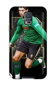 Perfect Cristiano Ronaldo Poster Case Cover Skin For Galaxy S5 Phone Case