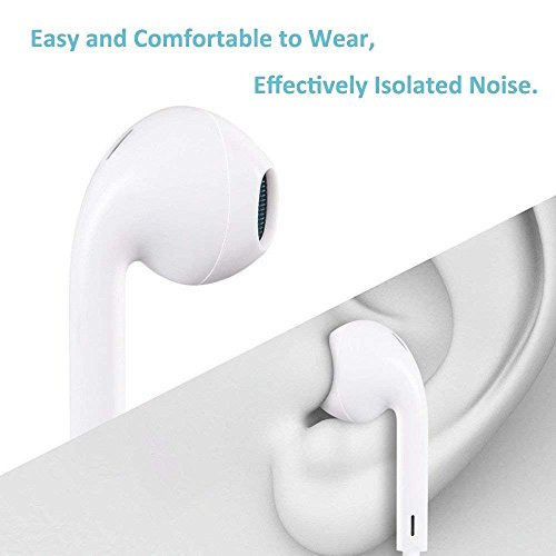 Lightning Earphones,With Microphone Earbuds Stereo Headphones and Noise Isolating headset Made for iPhone 7/7 Plus iPhone8/8Plus iPhone X Earphones,Support all iOS system by my-handy-design (Image #5)